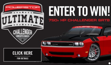 Hit the brakes and enter weekly for a chance to win this souped up 750+HP Power Stop Ultimate Challenger built by the Detroit Muscle team, worth $35,000!