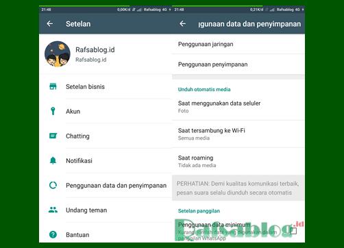 Cara Menonaktifkan Download Otomatis di wa/Whatsapp