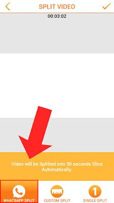 Cara Memotong Video Status Whatsapp