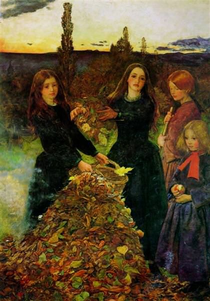 Sir John Everett Millais Autumn Leaves
