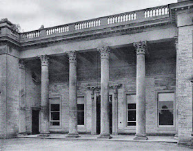The Portico, Compton Verney, by Robert Adam, 1760  (The back wall has been altered by J Gibson, 1855)  from The Architecture of Robert and James Adam by AT Bolton (1922)