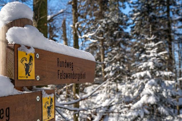 Rundweg Felswandergebiet  Wandern im Nationalpark Bayerischer Wald 21