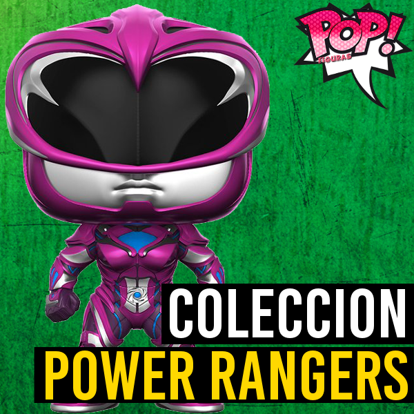 Figuras Funko Pop Lista Y: Funko POP Power Rangers (Película)