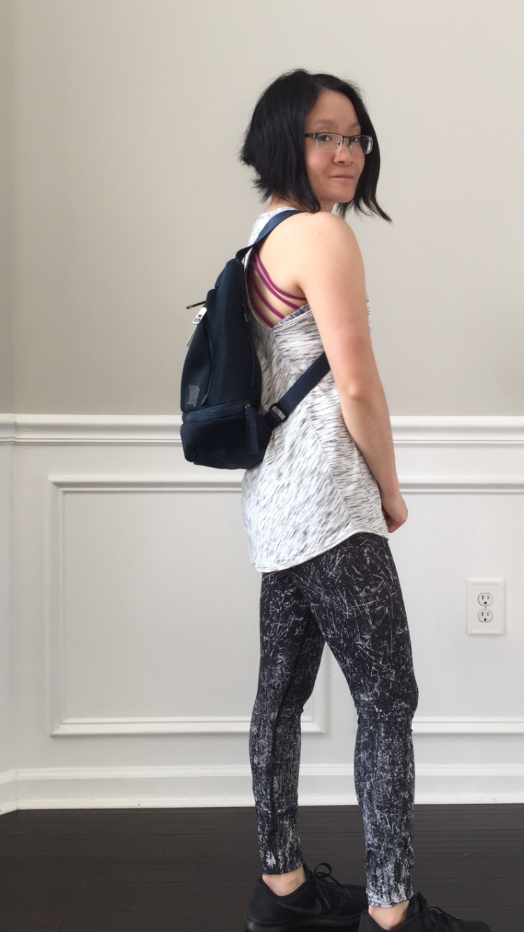 Petite Impact Review Go Lightly Backpack Mesh Mini Jaded