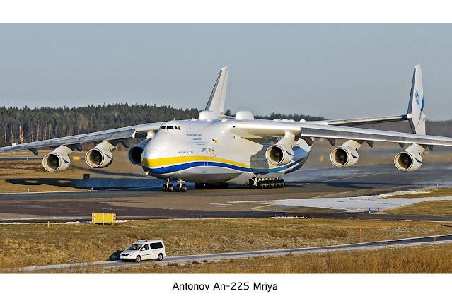antonov an-225, pesawat terbesar di dunia, antonov buatan soviet, pesawat kargo terbesar di dunia