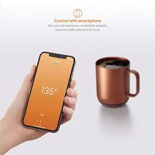 How do I set the temperature on my ember mug