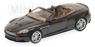 Minichamps 1:43 Aston Martin DBS Volante 2010 - black