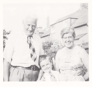 Nigel with his parents- taken from Nigel Hunt (1967): The World of Nigel Hunt; the diary of a Mongoloid youth, New York.