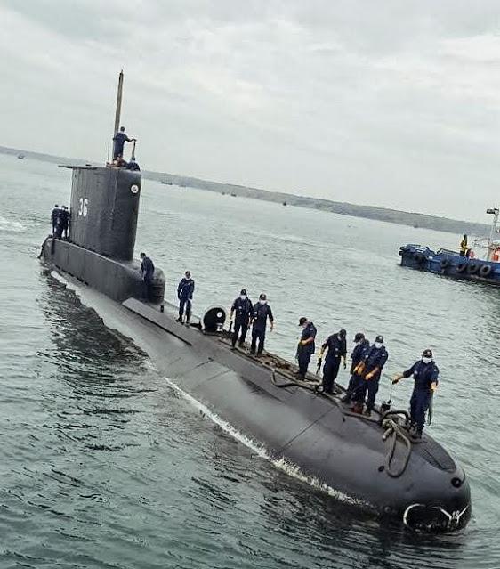 El Submarino BAP Arica zarpó para participar en el Operativo Vilit2021
