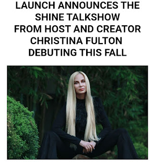 ACTRESS AND IMMORTAL BEAUTY CEO CHRISTINA FULTON  PARTNERS WITH LAUNCH ON HER NEW TALKSHOW SHINE