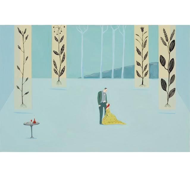 Pintura realizada por la artista suiza Albertine