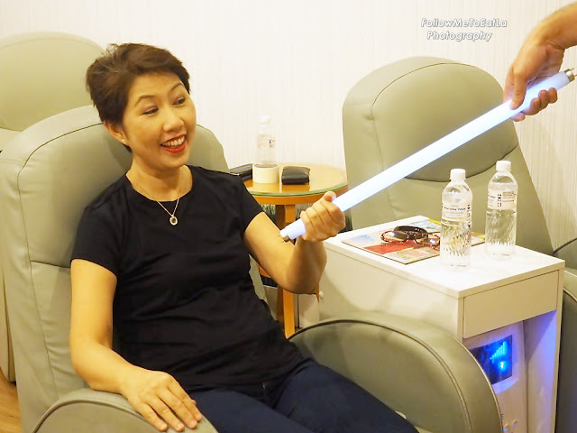 Getting charged with Electricity Field Therapy