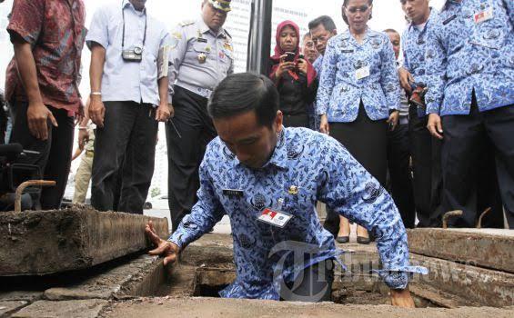 Janji Jokowi Tuntaskan Banjir jika jadi Presiden, Ditagih PKS