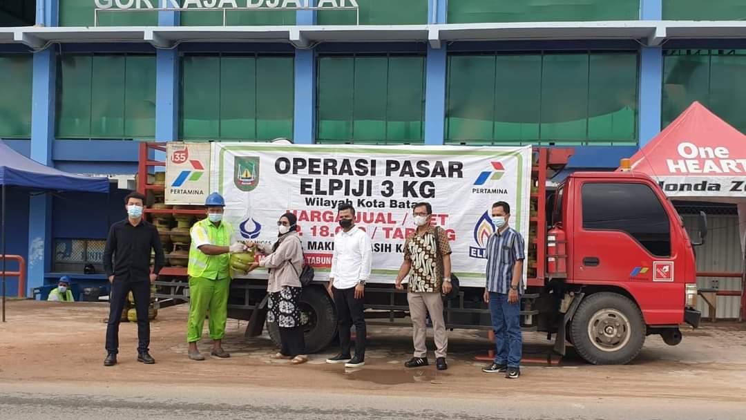 Disperindag Gelar Operasi Pasar Untuk Mengantisipasi Kelangkaan Gas Melon Jelang Lebaran