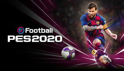لعبة الساحرة المستديرة eFootball PES 2020 كاملة للأندرويد - تحميل مباشر