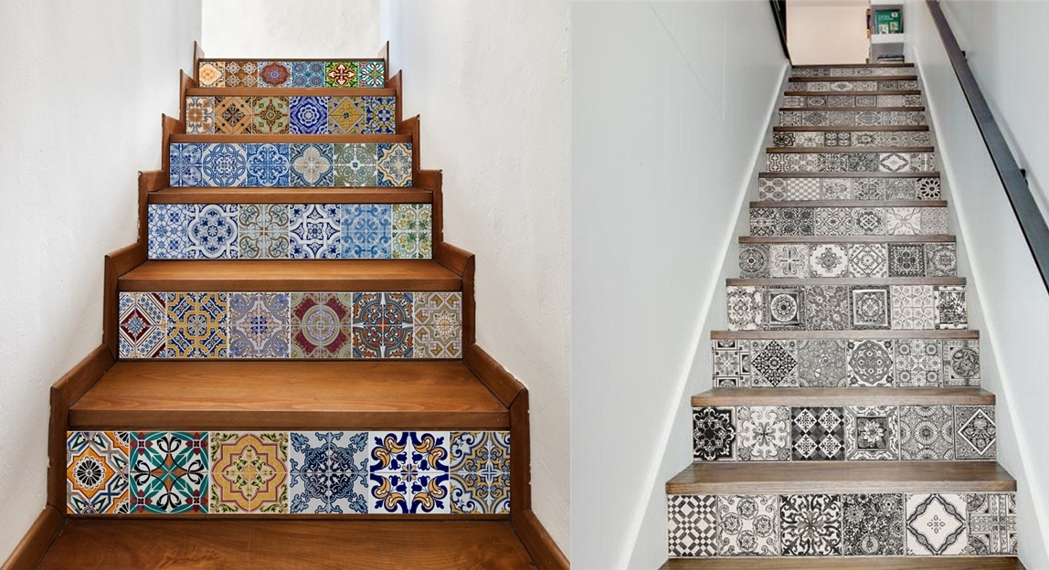 10 Cara Kreatif Mendekorasi Tangga Rumah Rumahku Unik