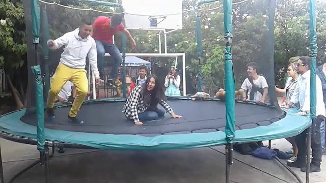 trampolines en bogota