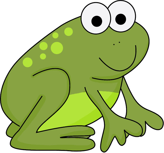 Frog and Toad Clip Art