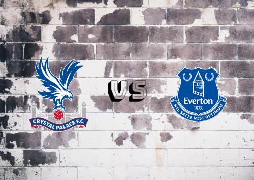 Crystal Palace vs Everton  Resumen