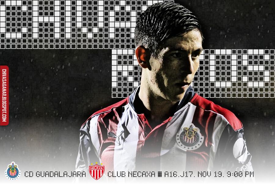 Liga MX : CD Guadalajara vs Club Necaxa - Apertura 2016 - Jornada 17.