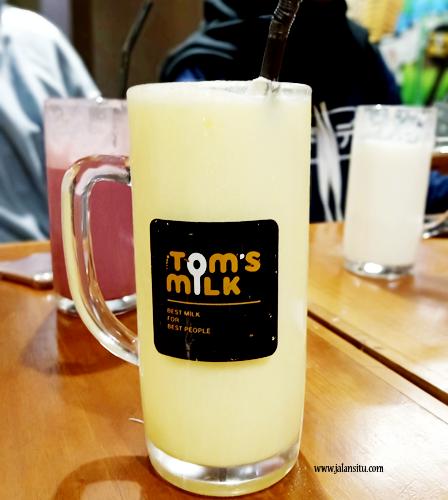 tom's milk hos cokroaminoto jogja