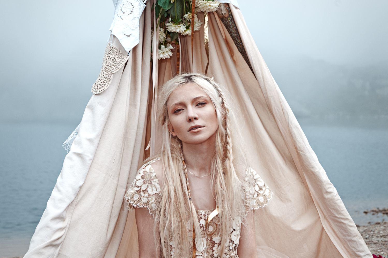 Matrimonio Stile Gipsy : Matrimonio ecologico il look della sposa gipsy pensato da monica