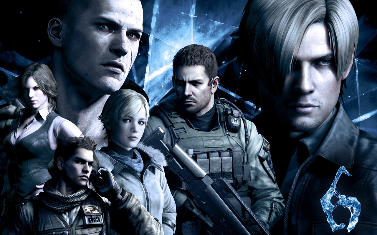 resident evil 6 playable characters