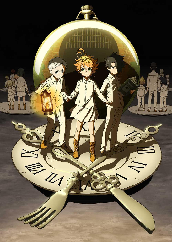 [مكتمل] جميع حلقات أنمي Yakusoku no Neverland مترجمة