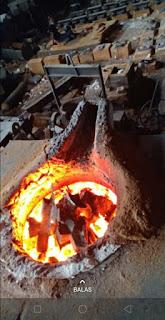 pengecoran logam machining