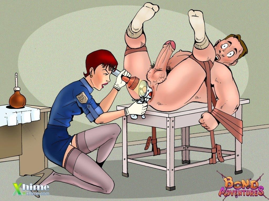 Femdom Cartoon Porn