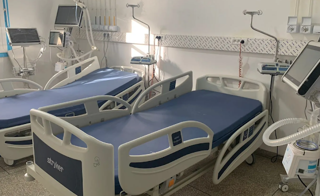 مستشفى المختار السوسي بتارودانت يتعزز بمصلحة الانعاش والعناية المركزة، بطاقة استيعابية تتكون من 12 سرير إنعاش و18 سرير للعناية المركزة