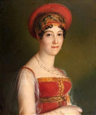 François Gérard - Portrait de Mademoiselle Mars en costume moscovite - 1814.