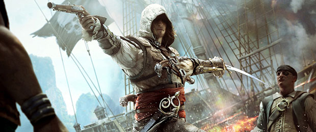 Assassin's Creed 4 Naval Exploration Gameplay Video
