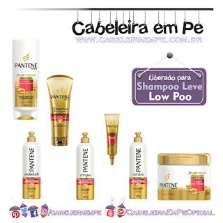 Produtos Liberados da Linha Cachos Hidra-vitaminados - Pantene (Condicionadores, Máscaras e Cremes para Pentear)