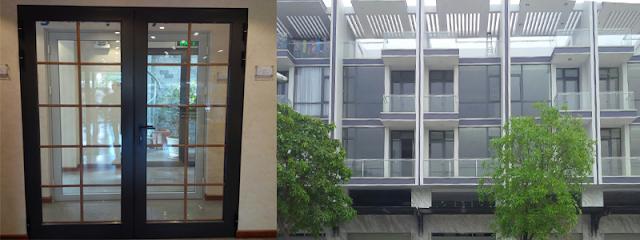 Hình ảnh cửa nhôm Eurowindow và công trình sửa dụng cửa nhôm Eurowindow