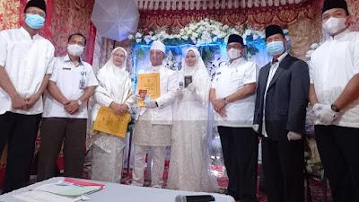 Bupati Pasaman Benny Utama Resmi Launching Kartu Nikah