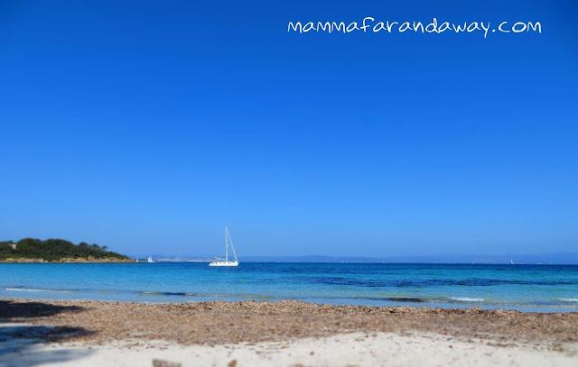 spiaggia isola di porquerolles