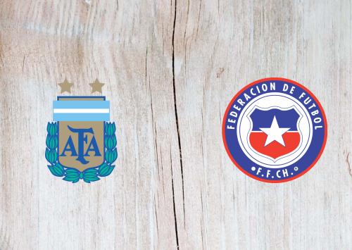 Argentina vs Chile -Highlights 04 June 2021