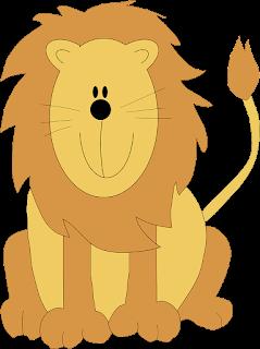 صورة بدون خلفية لأسد كارتون png lion