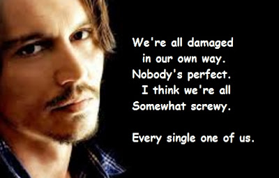 """Johnny Depp Quotes About Perfect"""