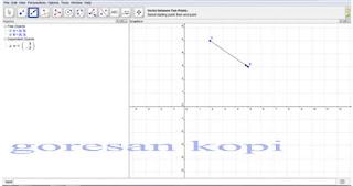 membuat garis vektor