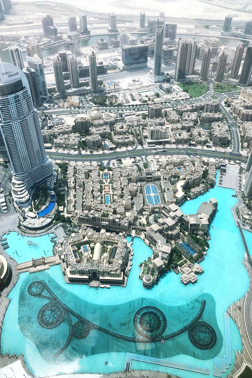 Blick von Burj Khalifa 3