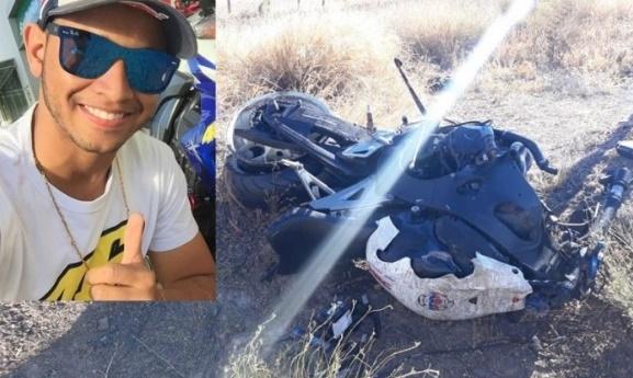 Guanambi: Acidente na BR-030, ceifa a vida de jovem de 20 anos. Namorada do rapaz ficou gravemente ferida.