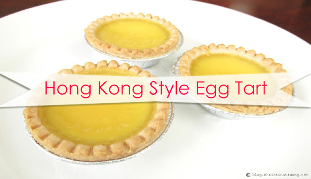 How to Make Homemade Hong Kong Style Egg Tart Dan Tat Recipe