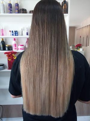 Colocação de mega hair em Itapema