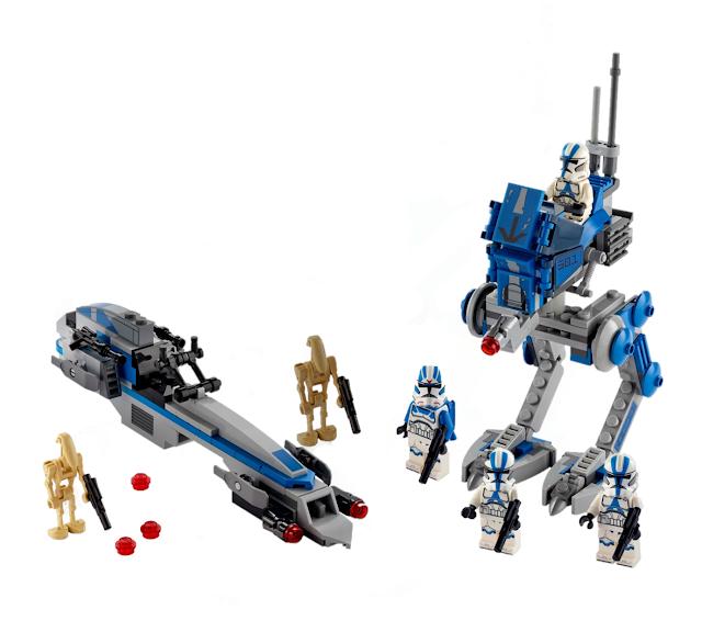 LEGO Star Wars new 501st Legion Clone Troopers Building Kit