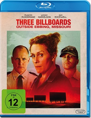 Three Billboards Outside Ebbing Missouri 2017 Dual Audio Hindi 480p BluRay 350mb