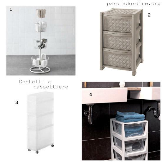 Cassettiere In Plastica Ikea.Mobiletto Plastica Ikea