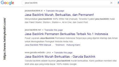 jasa backlink berkualitas yang aman