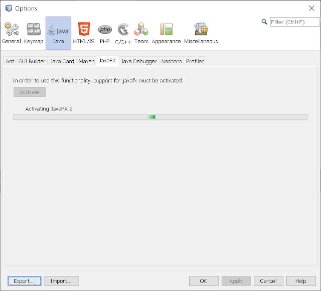 Step 3 - Integrate JavaFX Scene Builder on NetBeans 8.2